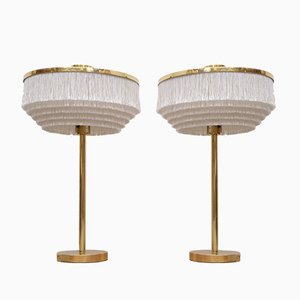 B-138 Brass Table Lamps by Hans-Agne Jakobsson for Hans-Agne Jakobsson AB Markaryd, 1960s, Set of 2