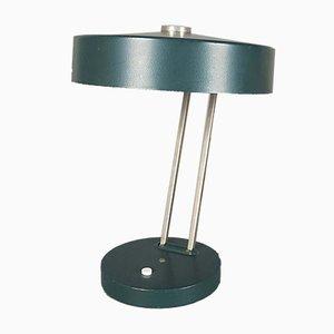 Lámpara de escritorio verde de Kaiser, años 70