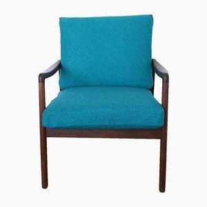 Model FD109 Teak Lounge Chair by Ole Wanscher for France & Søn, 1960s