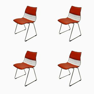 Chaises de Salle à Manger par Rudi Verelst pour Novalux, 1970s, Set de 4