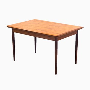 Vintage Extendable Teak Veneer Dining Table