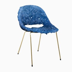 Crystallized Mid-Century Chair by Isaac Monté, 2018