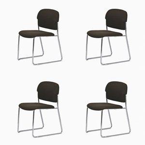 Chaises de Salle à Manger par Gerd Lange pour Drabert, 1970s, Set de 4