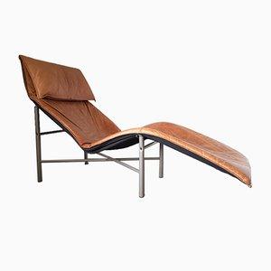 Fauteuil en Cuir par Tord Björklund pour Ikea, Suède, 1970s