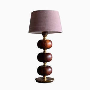 Lámpara de mesa sueca de Tranås Stilarmatur, años 50