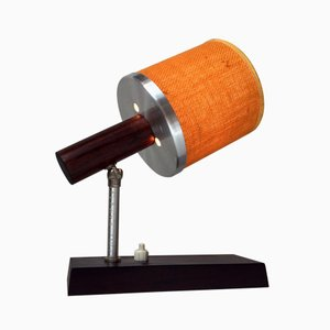 Lámpara de pared Silva de palisandro regulable de Lyfa, años 70