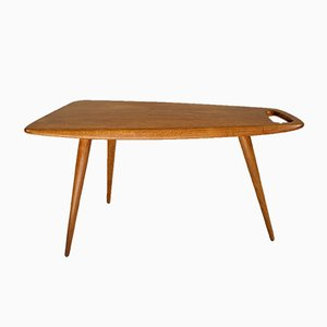 Coffee Table Number 44 in Oak by Pierre Cruège for Formes, 1950s