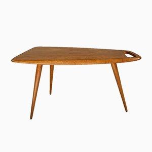 Table Basse Numéro 44 en Chêne par Pierre Cruège pour Formes, 1950s