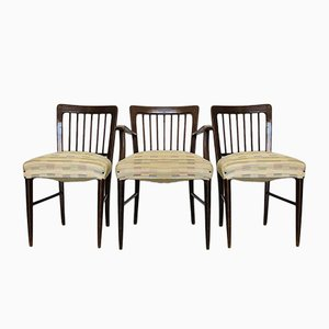 Chaises de Salon, 1950s, Set de 3