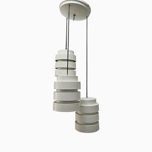 Lampe à Suspension avec Trois Éclairages, Italie, 1970s
