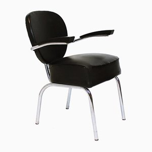 Art Deco Style Streamline Armchair from Röder Söhne, 1950s