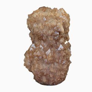 Vaso nr. 021 in cristallo di Isaac Monté