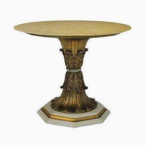 Italienischer vergoldeter Holz Tisch