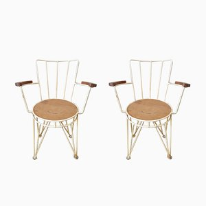 Mid-Century Garden Chairs, Set of 2