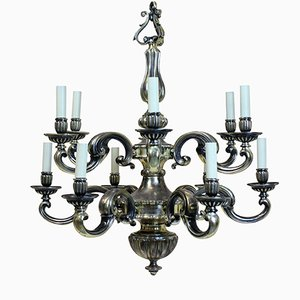 Antique Charles II Style Chandelier