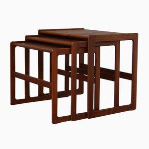 Tables Gigognes par Arne Hovmand Olsen pour Mogens Kold, 1960s.