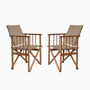 Chaises Pliables Vintage, 1960s, Set de 2
