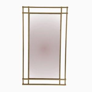 Italian Brass Mirror, 1970s