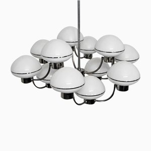 Vintage 12-Light Chandelier by Gaetano Sciolari