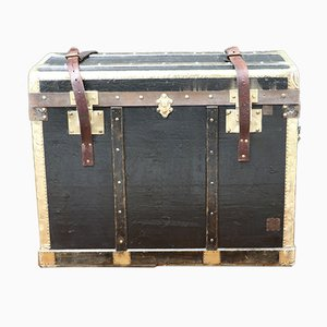 Vintage Flat Trunk from Lavolaille