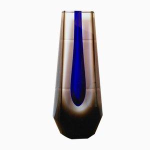 Vaso in vetro di Pavel Hlava, anni '70