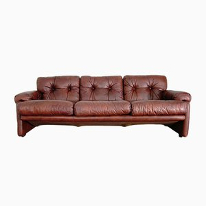 Vintage 3-Sitzer Coronado Sofa von Tobia & Afra Scarpa für B & B