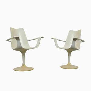 Der Lusch Chairs by Luigi Colani for Lusch, 1970s, Set of 2