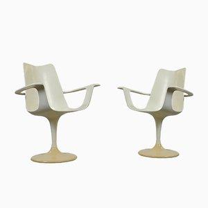 Der Lusch Stühle von Luigi Colani für Lusch, 1970er, 2er Set