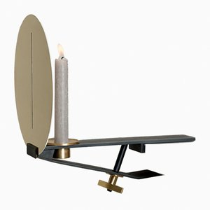 Portacandela Sera Clamp di Aldo Parisotto & Massimo Formenton per Mingardo