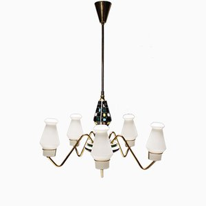 Scandinavian Chandelier from Bergboms