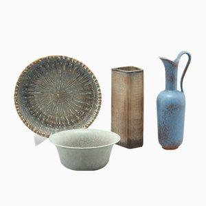 Vintage Keramik Set von Gunnar Nylund für Rörstrand