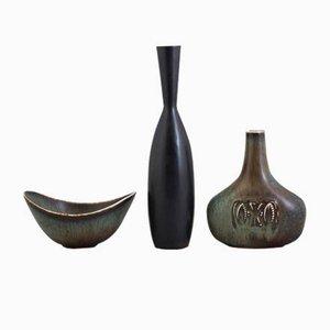 Vintage Keramik Set von Gunnar Nylund & Carl-Harry Stålhane für Rörstrand