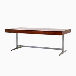 Scandinavian Rosewood Desk, 1960s