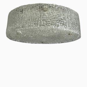Lampada da soffitto a incasso Space Age di Kaiser Leuchten, anni '60