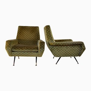 Mid-Century Sessel, 2er Set