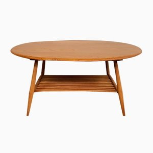 Vintage Round Coffee Table by Lucian Ercolani for Ercol