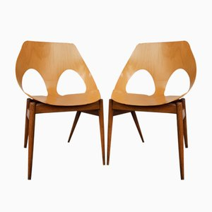 Side Chairs by Carl Jacobs for Kandya, 1950s, Set of 2