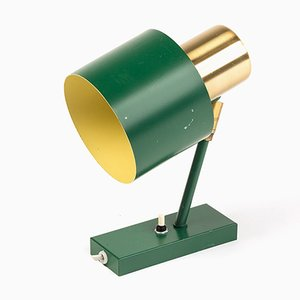 Vintage Green Alfa Wall Lamp by Jo Hammerborg for Fog & Mørup