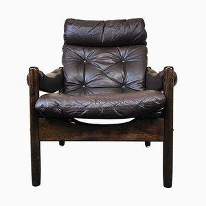 Dänischer Vintage Palisander Sessel, 1960er