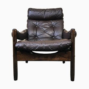 Vintage Danish Rosewood Easy Chair, 1960s