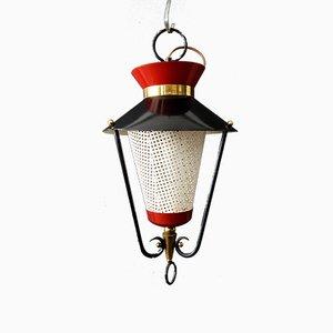 Lámpara colgante francesa, años 50