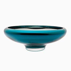 Große DECO Schale in Aquamarinblau von Artis Nimanis für an&angel