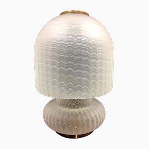 Lampada da tavolo in vetro di Murano, anni '60