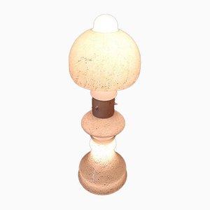 Lámpara de pie de cristal de Murano, años 60