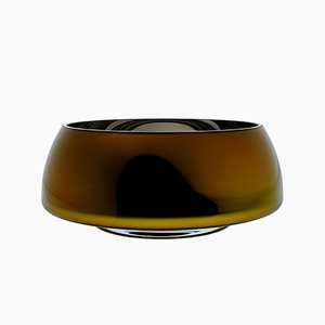 DECO Jazz Grand Amber Bowl by Artis Nimanis for an&angel