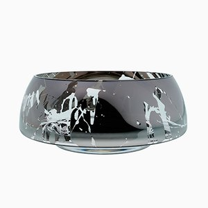 DECO Jazz Grand Mirror Bowl with Splashes by Artis Nimanis for an&angel