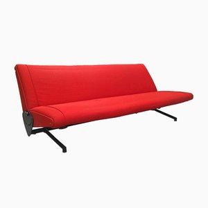 D70 Sofa von Osvaldo Borsani für Tecno, 1950er