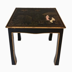Chinoiserie Side Table, 1950s