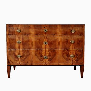 Antique Walnut Commode, 1810s
