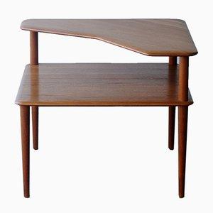 Table d'Appoint Minerva par Peter Hvidt & Orla Mølgaard-Nielsen pour Cado, 1960s